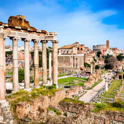 Ancient Rome Free Guided  TourDaily at 11.00 AM Visit with a licensed and professional guide, the archeological areas of the Roman and Imperial Fora, the Colosseum and more, on a 2-hour tour. FREE