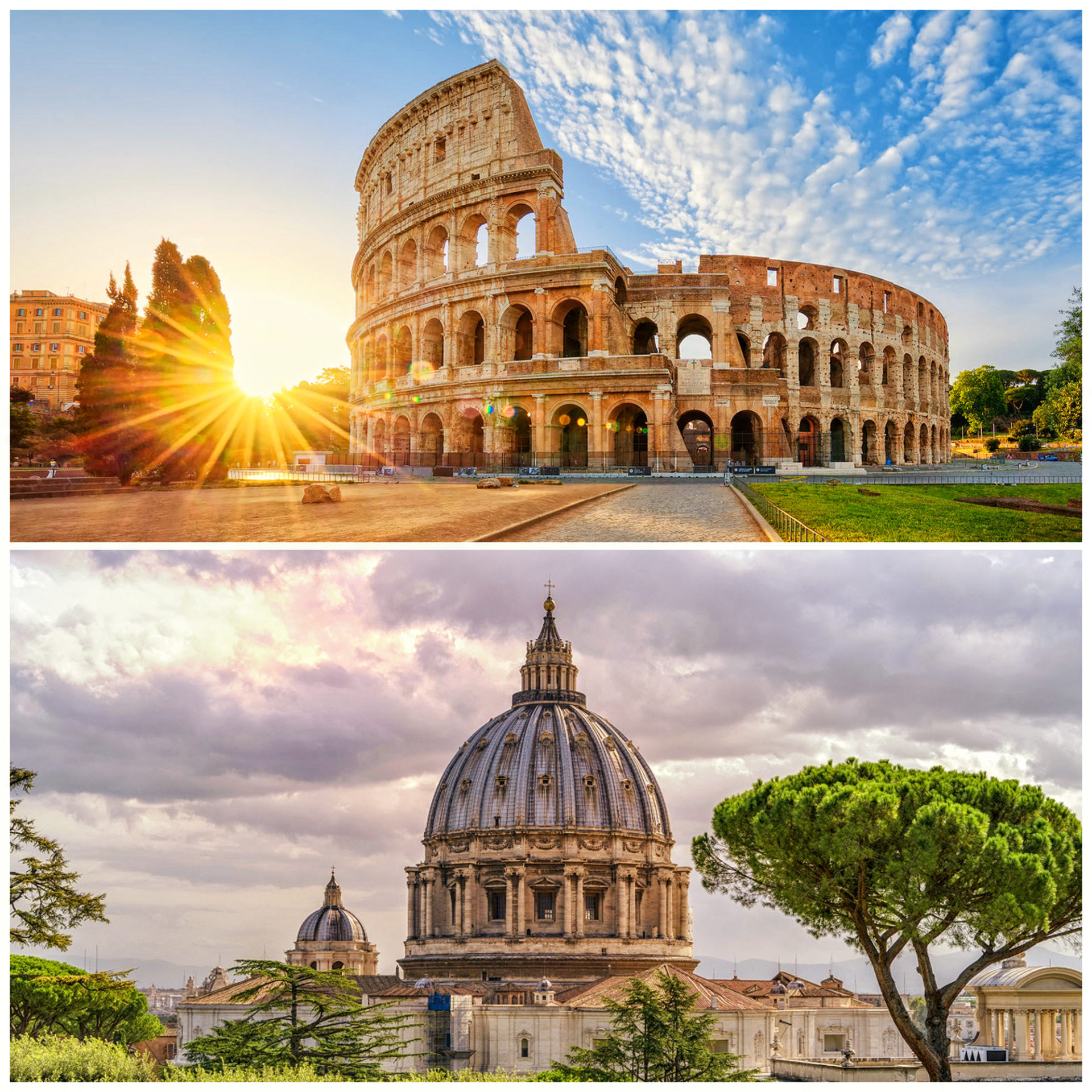 Colosseum and Vatican in a day If Rome was not built in a day, with us you will be able to visit the Colosseum, Vatican Museums  and more in a single day!